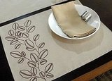 These Coffee Bean Placemats ($26 for a set of 4) are in pretty harvest colors, but are universal in their appeal, and can be used for many occasions, not just Thanksgiving.