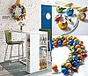 DIY: CB2 Ornament Wreath