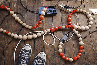 Cool Idea: Conquer Cable Cords With Beads