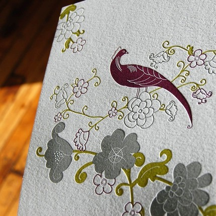 The color combination on this Tear-Away Letterpress Calendar ($10) is absolutely exquisite.