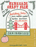 Check out a craft fair in your city for unique holiday gifts that you won't find in a mall!