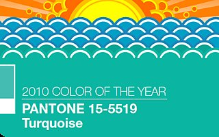 Pantone Names Turquoise the Color of 2010!