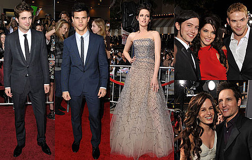 Photos of Robert Pattinson, Kristen Stewart, Taylor Lautner, Dakota Fanning, Ashley Greene, Kellan Lutz, New Moon LA Premiere