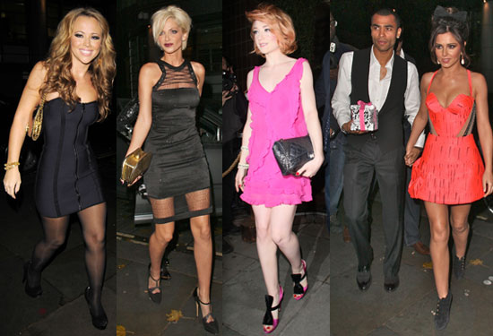 Photos of Cheryl Cole and Ashley Cole at Kimberley Walsh Sarah Harding Birthday Party With Nicola Roberts Girls Aloud Sugababes