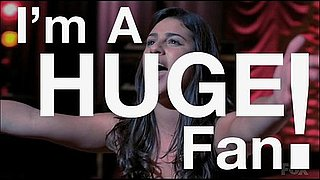 "Watch Shelly, winner of the ""Attend the SYTYCD Finale with a Glee Cast Member"" Contest, in ""I'm a Huge Fan!"""