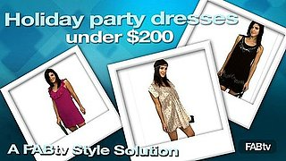 Holiday Party Dresses on a Budget: A FabTV Style Solution!