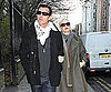 Slide Photo of Gwen Stefani and Gavin Rossdale Walking in London