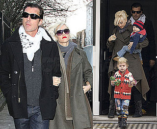 Photos of Gwen Stefani and Family in London