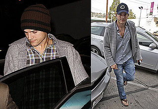 Photos of Ashton Kutcher in LA Before Ex-Girlfriend Brittany Murphy Passes Away
