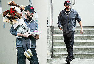 Photos of Ben Affleck Picking Up Violet From School As Jennifer's Stalker Is Arrested