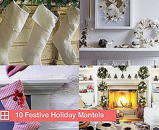 Sugar Shout Out: 10 Festive Mantels For the Holidays!