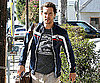 Slide Photo of Matthew McConaughey with Facial Hair In LA