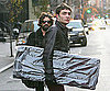Photo Slide of Ed Westwick Shopping in NYC