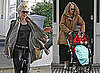 Photos of Gwen Stefani And Kingston Rossdale Walking Together in London