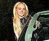 Slide Photo of Lindsay Lohan Getting Into Car in LA