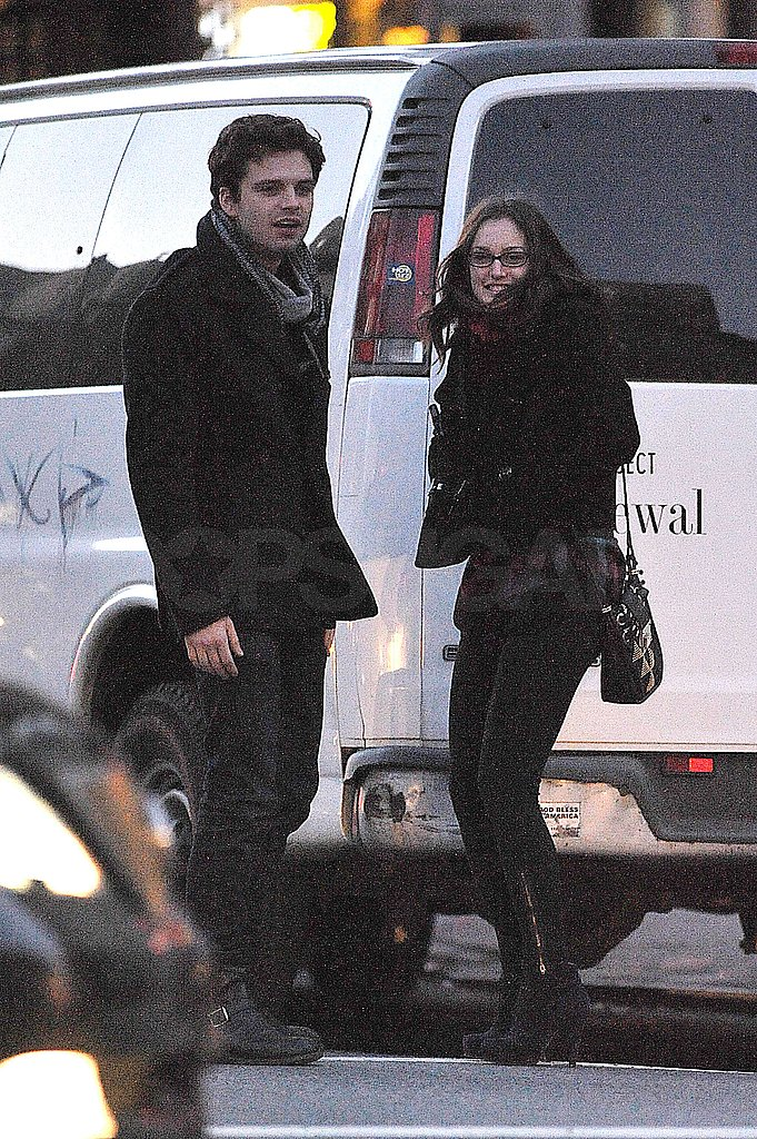 Photos of Leighton Kissing Sebastian in NYC