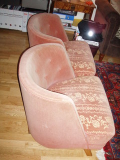 Before and After: 1930s Club Chairs
