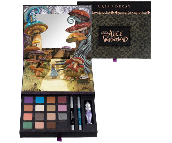 A Sneak Peek at Alice in Wonderland Makeup