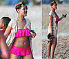 Photos of Rihanna in a Pink Bikini While Vacationing in Barbados