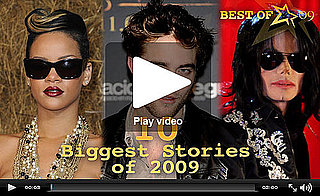 Robert Pattinson, Rihanna, and Michael Jackson Top PopSugar Rush's Biggest Stories of 2009!