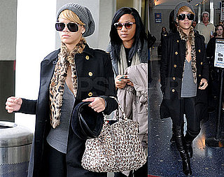 Photos of Rihanna Arriving at JFK