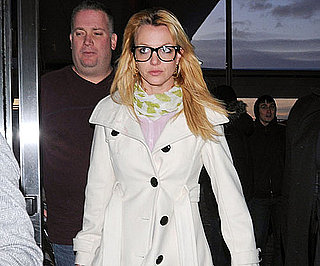 Slide Photo of Britney Spears Wearing Glasses in NYC