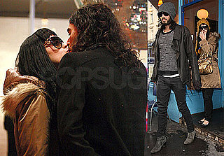 Photos of Russell Brand and Katy Perry Holding Hands in London