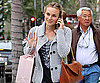 Slide Photo of Diane Kruger Shopping in LA