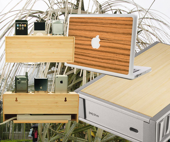 Bamboo + Tech = Chic