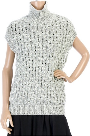 The Look For Less: Marc Jacobs Honeycomb Knit Sweater