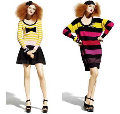 Photos of Sonia Rykiel for H&M's Knitwear Collection for Spring 2010