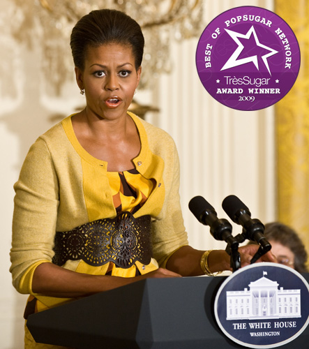 Michelle Obama: Favorite Female Newsmaker of 2009