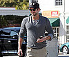 Slide Photo of Bradley Cooper Wearing Sunglasses in LA