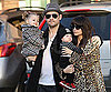Slide Photo of Nicole Richie, Joel, Sparrow, and Harlow Madden on Christmas Day