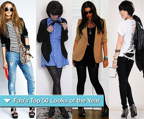 FabSugar's Top 50 Look Book Looks of 2009
