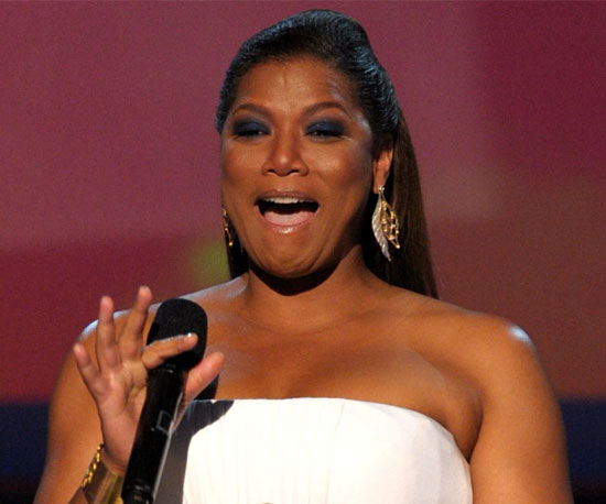 Pictures of Queen Latifah at the 2010 People's Choice Awards