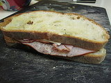 Easy Ham and Cheese Recipe With Caramelized Shallots 2010-01-06 16:15:46