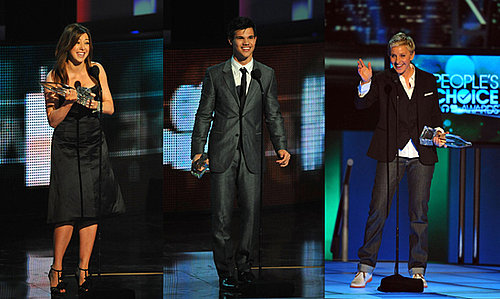 Full Winner List of the 2010 People's Choice Awards 2010-01-06 20:41:04