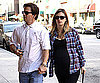 Slide Photo of Mark Wahlberg and Pregnant Rhea Durham at Lunch in LA