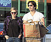 Slide Photo of Drew Barrymore and Justin Long Grocery Shopping in LA