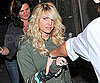 Slide Photo of Jessica Simpson Leaving Ken Paves Salon