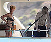 Slide Photo of Rihanna in a Bikini with Matt Kemp