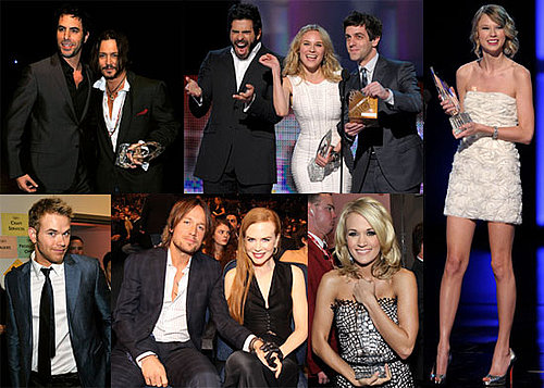 Photos of Taylor Lautner, Taylor Swift, Johnny Depp At People's Choice Awards