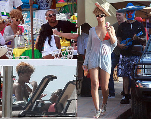 Photos of Matt Kemp With Rihanna in Cabo