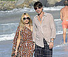 Slide Photo of Rachel Zoe and Rodger Berman Vacationing in St. Bart's