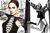 Photos of Jennifer Lopez on the cover of US Elle magazine
