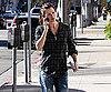 Slide Photo of Jennifer Garner Leaving Luxe Cafe