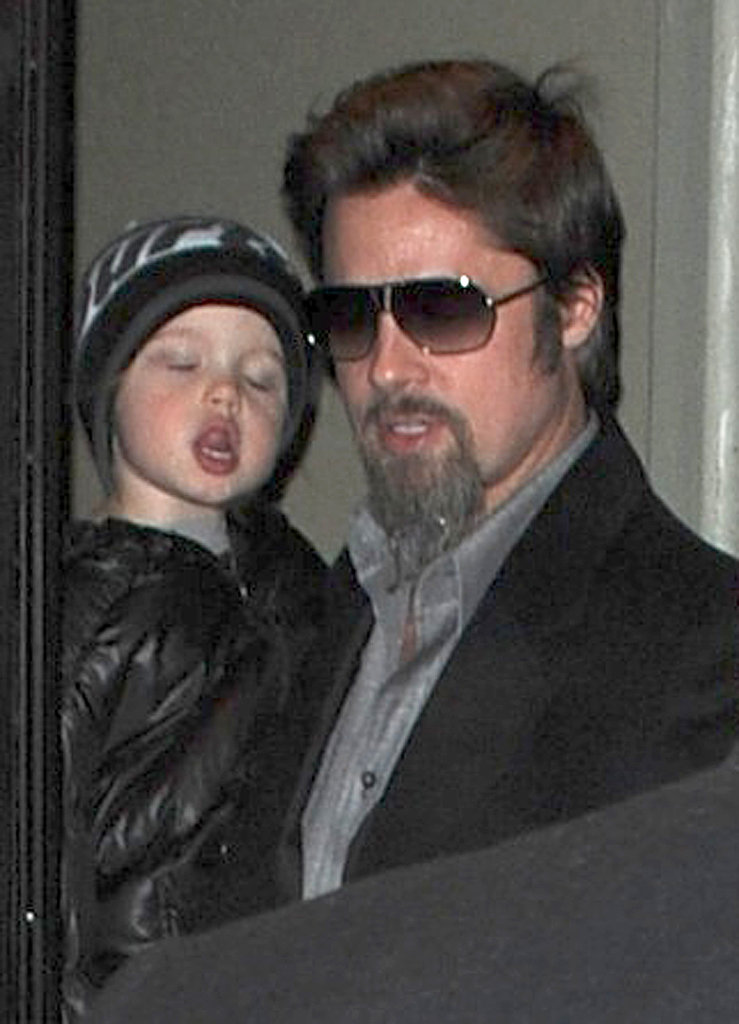 Photos of Brad Pitt And Angelia Jolie