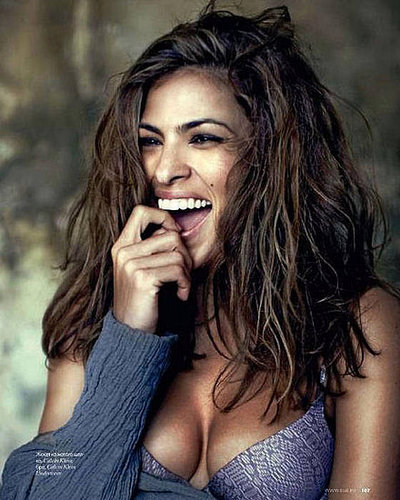 Eva Mendes in Russian ELLE