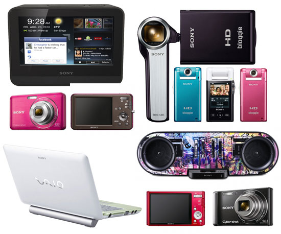 Sony Announces New Cameras, Camcorders, and Home Entertainment Tablets at CES Press Conference